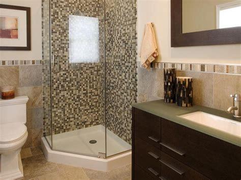 38 half wall shower for your small bathroom design ideas
