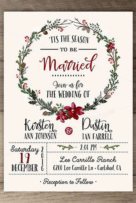 wedding invitations images 18 winter wedding invitations see more http www