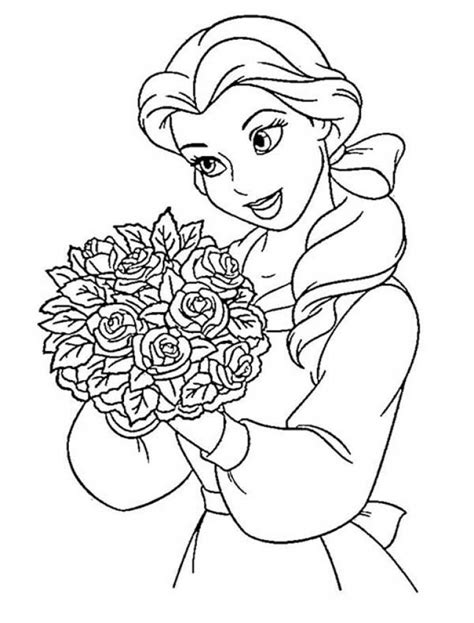 belle christmas coloring pages 87 belle coloring pages good princess belle