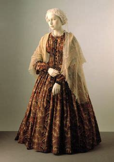 augusta cashmere pine 19th century clothing 1841 1860 on day dresses afterno