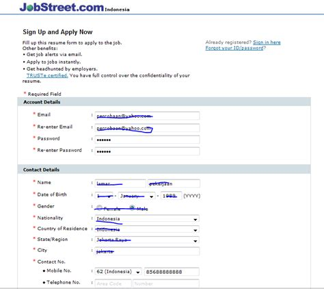 Resume Sle Jobstreet Malaysia Gebuh Jobstreet Travel Officer