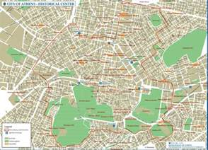 athens map athens historical center map athens greece mappery