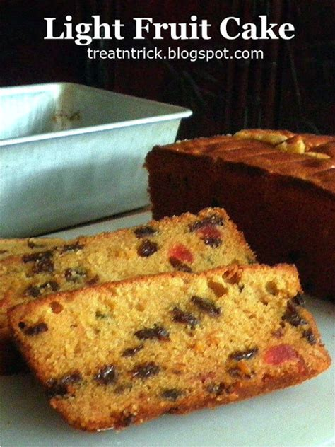 Treat Trick Light Fruit Cake Light Fruit Cake