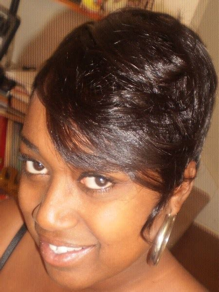 pictures of short weavons short sew in weave hairstyles beautiful hairstyles