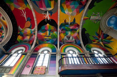 Kaos Colourful Skateboarding take me to church artist covers skate