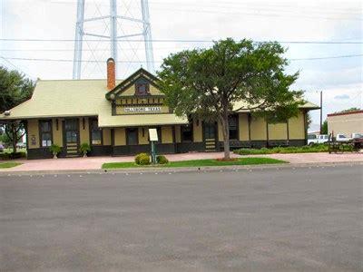 missouri kansas company railroad station katy depot