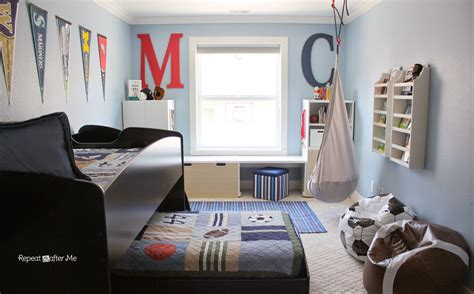 8 year old boy bedroom ideas repeat crafter me boring to bold boys sports themed bedroom
