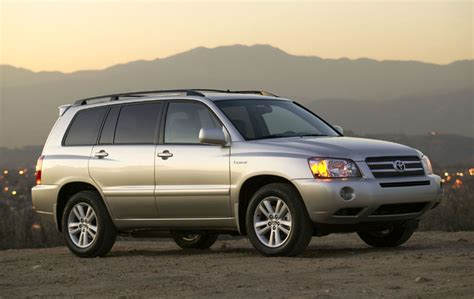 2006 Toyota Reviews 2006 Toyota Highlander Hybrid Pictures Photos Gallery