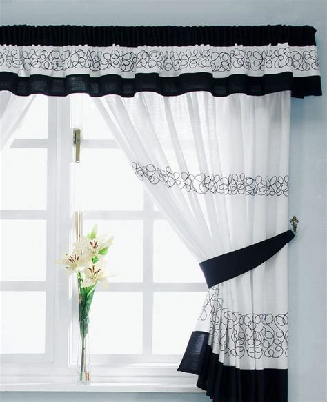 Black And White Kitchen Curtains Retro Black And White Kitchen Curtains Bedroom Ideas Retro Kitchen Curtains