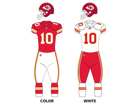 kc colors file kc chiefs uniforms png wikimedia commons