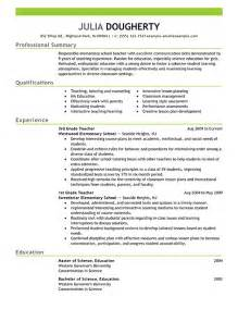 Sample Teacher Resume Templates Resume Examples Free Resume Example Resource Livecareer