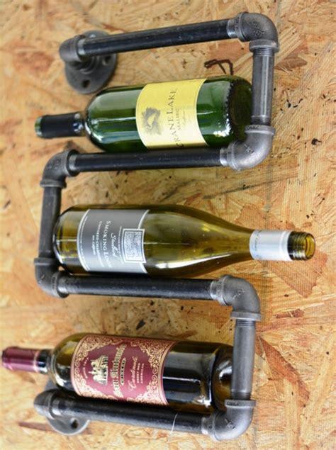 Plumbing Pipe Rack by Industrial Plumbing Pipe Wine Rack