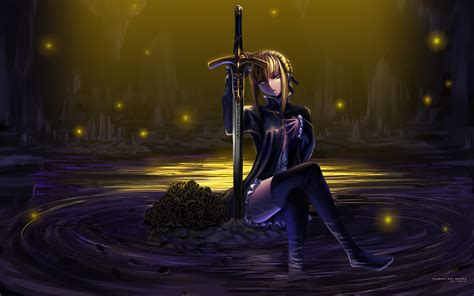 fate stay night hd wallpaper anime new tab free addons wallpaper of the week saber alter randomness thing