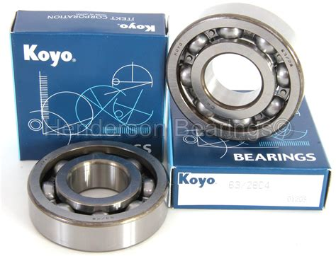 In Koyo 63 28 c4 koyo motorcycle crankshaft bearings 28x68x18mm