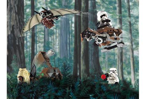 Lego 7139 Wars Ewok Attack 7139 ewok attack lego wars beyond