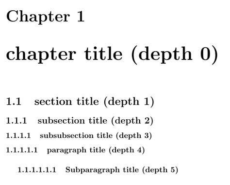 latex sections sectioning how can i number sections below subsection in