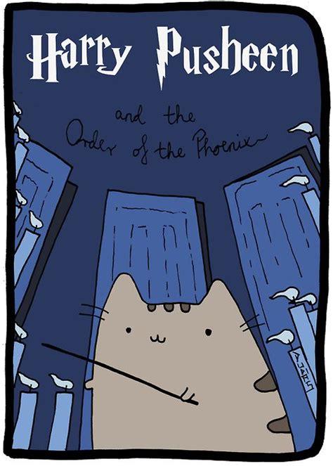 pin by solange claire on book cover ideas pinterest pusheen the cat rencontre harry potter l ordre du ph 233 nix