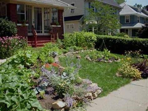 Vegetable Garden In Front Yard Front Yard Vegetable Garden Home Inspiration
