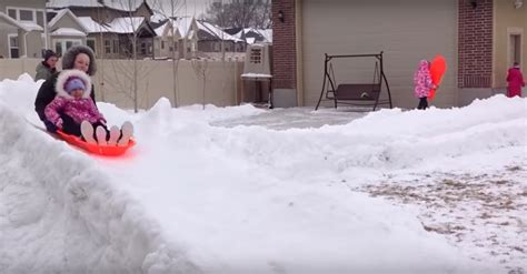 backyard luge genius dad builds backyard luge course for his 15 kids