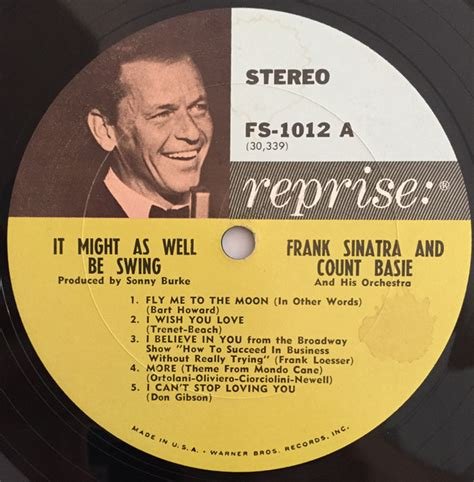 frank sinatra it might as well be swing frank sinatra count basie quot it might as well be swing quot lp