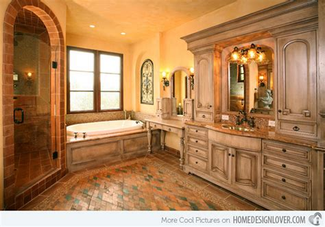 15 beautiful mediterranean bathroom designs house