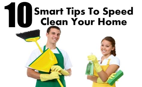 10 Smart Detox Tips by 10 Smart Tips To Speed Clean Your Home Diy Home Things