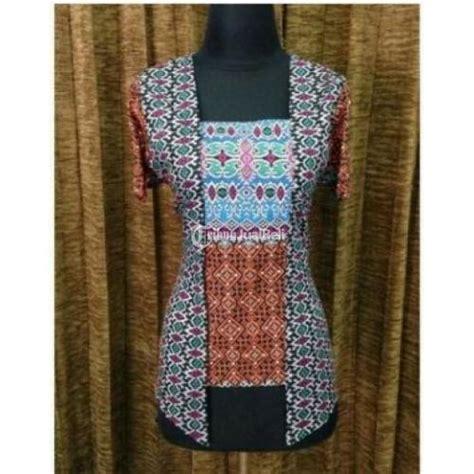 kebaya etnik wanita moela baju atasan wanita model kebaya motif batik etnik unik new