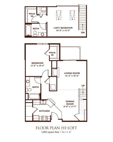 2 bedroom loft apartment floor plans nantucket apartments