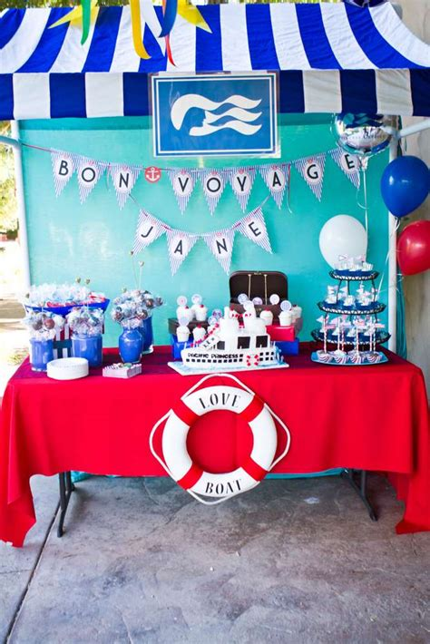love boat theme ideas nautical cruise ship the love boat farewell party party