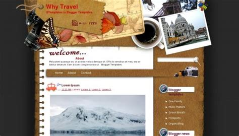templates blogger travel why travel blogger template btemplates