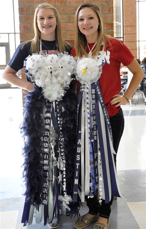homecoming mums the eagle angle