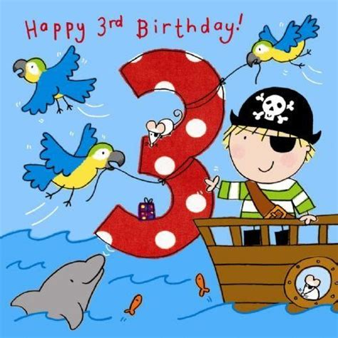 Third Birthday Card 156 Best Images About Happy Birthday On Pinterest