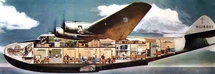 Super Constellation Interior Boeing 314 Clipper Flying Boat