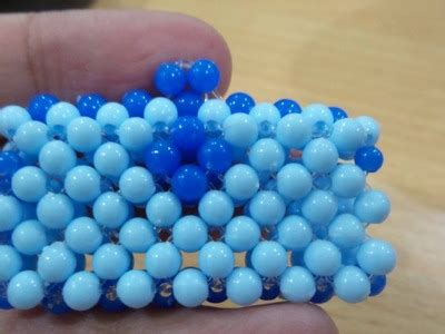 Krmnk068g Tas Manik Handmade beaded bracelet tutorial macrame school my crafts and diy projects