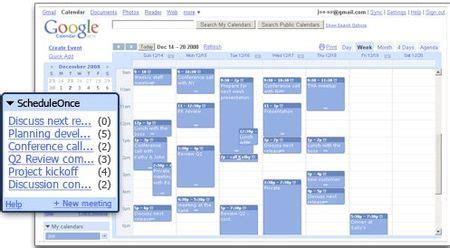 Calendar Extension Firefox Scheduleonce Extensi 243 N De Firefox Para Calendar