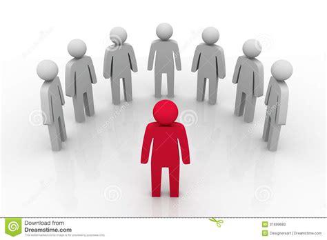 google images leadership groepsleider concept stock illustratie afbeelding