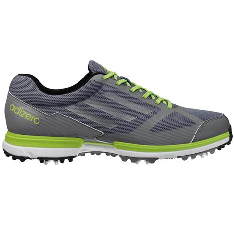 adizero golf shoes adidas adizero sport golf shoes mens lead silver slime