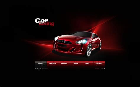 template tuning car tuning flash template 29397