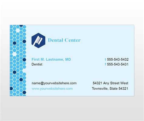 office business card template family dentistry dental office business card templates