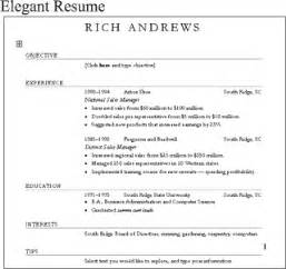 creating resume using ms word 2