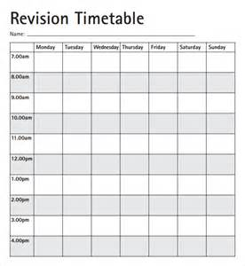 Timetable School Template by 8 Free Timetable Templates Excel Pdf Formats
