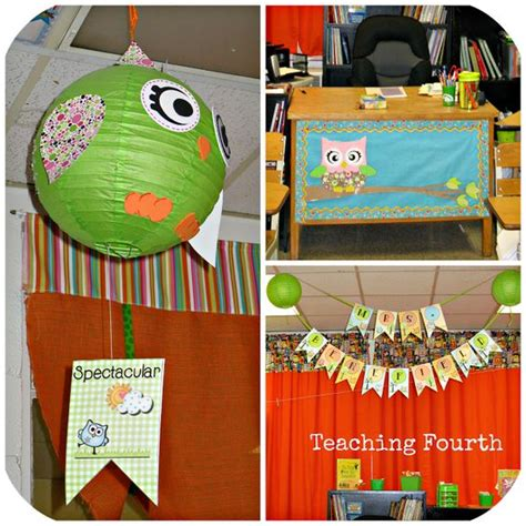 Classroom Digs Classroom Fun King And Desks Owl Themed Desk Accessories