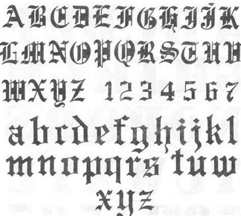 letras goticas letras goticas el abecedario en letras cursivas to letras
