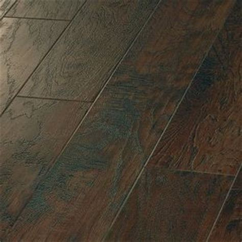 hand crafted wood hickory paprika vinyl flooring that looks like real wood bedroom