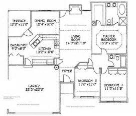 House Plans With Dimensions House Dimensions Approximate Dimensions And Floor Plan For The Home