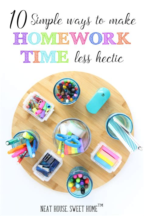 Homework Time Child School Set by 10 Simple Ways To Make Homework Time Less Hectic
