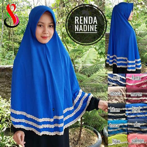 Ready Stock Sale 50 Instan Slem Najwa Renda Size L kerudung renda nadine sentral grosir jilbab kerudung i supplier jilbab i retail grosir