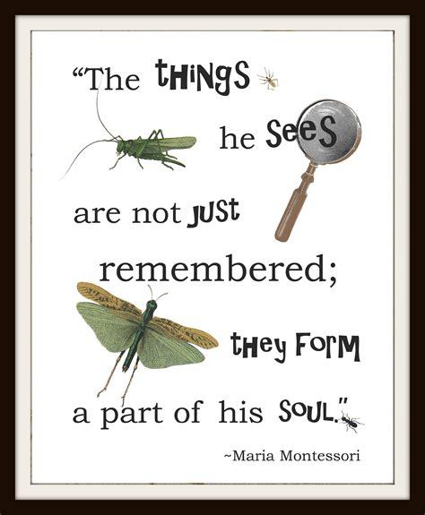 printable montessori quotes instant download nature inspiration maria montessori