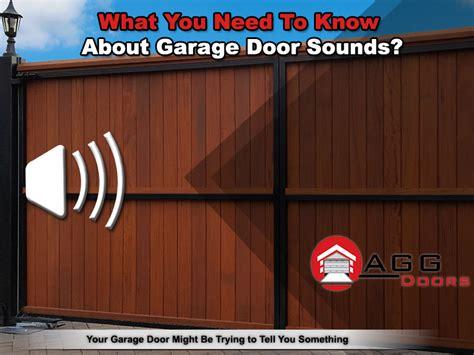 Garage Door Sound Effect Door Sounds