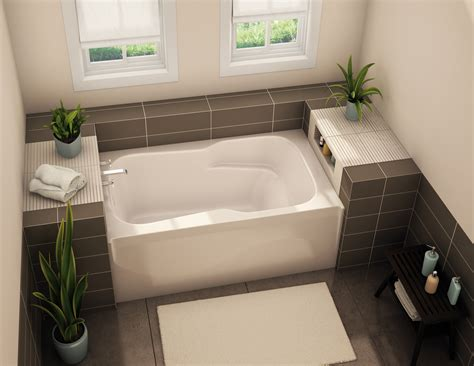 alcove bathtub sba alcove bathtub aker by maax
